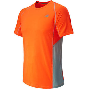 New Balance Mens Accelerate Short-Sleeve Shirt