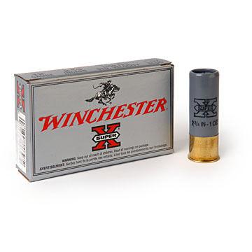 """Winchester Super-X 12 GA 3"""" 1 oz. BRI Sabot Slug Ammo (5)"""