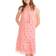 Southern Tide Women's Rowena Scalloped Eyelet Dress