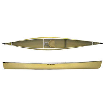 We-No-Nah Voyager Kevlar Ultra-light Solo Canoe