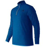 New Balance Men's In Transit 1/4 Zip Pullover