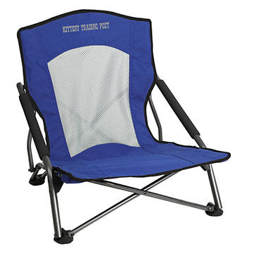 Portal Quick Quad Event Chair w/ Kittery Trading Post Logo