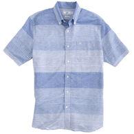 Southern Tide Men's Variegated Striped Short-Sleeve Shirt