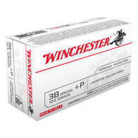 Winchester USA 38 Special +P 110 Grain JHP Handgun Ammo (50)