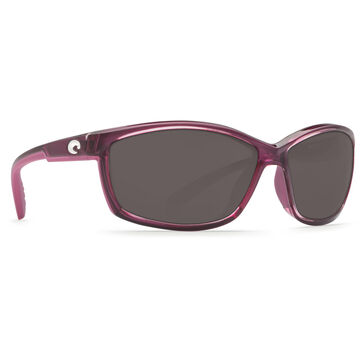 Costa Del Mar Womens Manta Plastic Lens Polarized Sunglasses