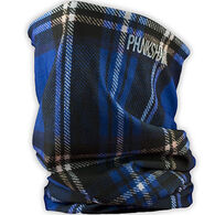 Phunkshun Wear Women's Plaid Phabric Double Layer Facemask