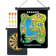Outside Inside Backpack Magnetic Camp Darts Game