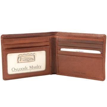 Osgoode Marley Leather I.D. Slimfold Wallet
