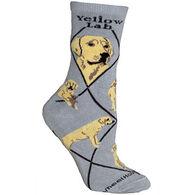 Wheel House Designs Yellow Lab Sock