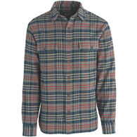 Woolrich Men's Big & Tall Oxbow Bend Plaid Flannel Long-Sleeve Shirt
