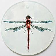 Radiant Art Dragonfly Ornament