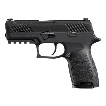 SIG Sauer P320 Nitron Manual Safety 9mm 3.9 10-Round Pistol - MA Compliant