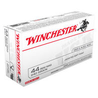 Winchester USA 44 Remington Magnum 240 Grain JSP Handgun Ammo (50)