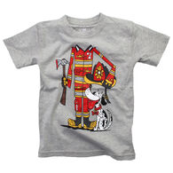 Wes And Willy Boy's Firefighter Short-Sleeve T-Shirt