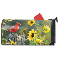 MailWraps Cardinal View Magnetic Mailbox Cover