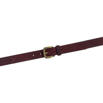 Lavin Mens Side-Laced Oil-Tanned Leather Belt