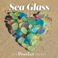 Sea Glass: 2019 Down East Wall Calendar by Editors of Down East
