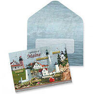 Cape Shore Lighthouses Of Maine Boxed Notes