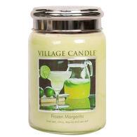 Village Candle Large Glass Jar Candle - Frozen Margarita