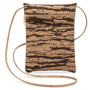 Natalie Therése Womens Be Lively Mini Rustic Cork Handbag