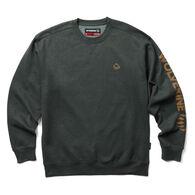 Wolverine Men's Graphic Crewneck Fleece Sweatshirt
