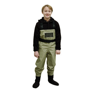 Caddis Youth Breathable Stockingfoot Wader