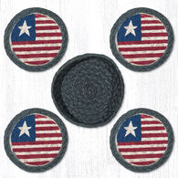 Capitol Earth Flag Coaster Set, 5-Piece