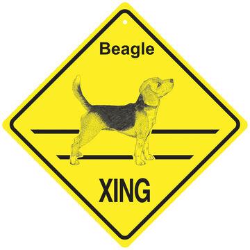 KC Creations Beagle XING Sign