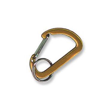 Bison Designs Flat Micro D Carabiner Keychain