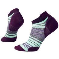 SmartWool Women's PhD Outdoor Ultra Light Striped Micro Sock