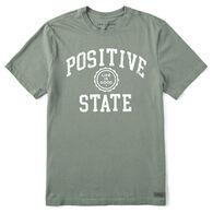 Life is Good Men's Positive State Crusher Short-Sleeve T-Shirt