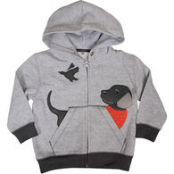 Buck Wear Toddler Boys' Lab Looking Applique Sweatshirt