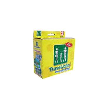 Travel John Disposable Urinal - 3 Pk.