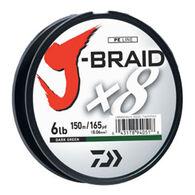 Daiwa J-Braid Braided Fishing Line - 150 Meters