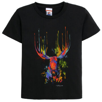 The Duck Company Youth Drip Moose Short-Sleeve T-Shirt