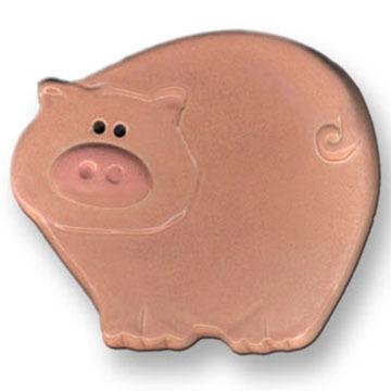 August Ceramics Mini Pig Dish