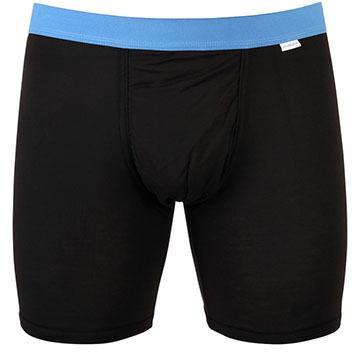 MyPakage Men's Weekday Black Boxer Short