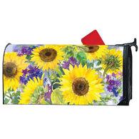 MailWraps Sunflower Burst Magnetic Mailbox Cover