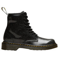 Dr. Martens AirWair Junior Girls' 1460 Black Coated Glitter Boot
