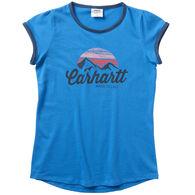 Carhartt Girl's Ringer Short-Sleeve T-Shirt