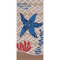 Kay Dee Designs Coastal Starfish Tea Towel