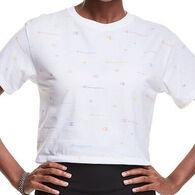 Champion Women's Cropped Printed Short-Sleeve T-Shirt