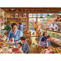 White Mountain Jigsaw Puzzle - The Cake Shop