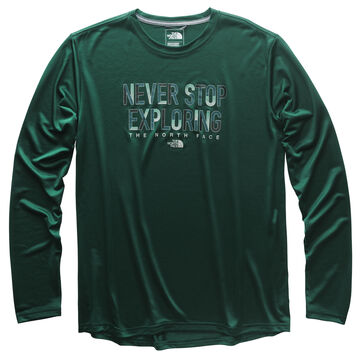 The North Face Mens Reaxion Crew Long-Sleeve T-Shirt