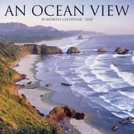 Willow Creek Press Ocean View 2018 Wall Calendar