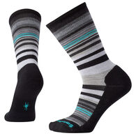 SmartWool Women's Jovian Stripe Medium Cushion Crew Sock - Special Purchase