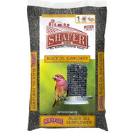 Schafer Black Oil Sunflower Bird Seed - 5 Lbs.
