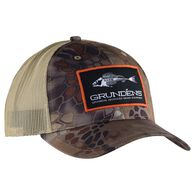 Grundens Men's Camo Trucker Hat