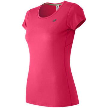 New Balance Womens Accelerate Short-Sleeve T-Shirt