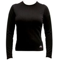 Hot Chillys Women's MTF Micro-Elite Chamois Crew-Neck Top